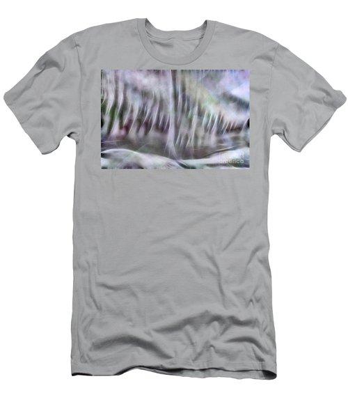 Symphony In Pastel Colors Men's T-Shirt (Slim Fit) by Yulia Kazansky