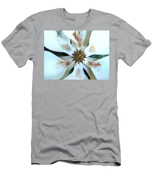 Magnolia Pinwheel Men's T-Shirt (Athletic Fit)