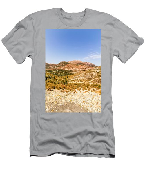Majestic Arid Peaks Men's T-Shirt (Athletic Fit)
