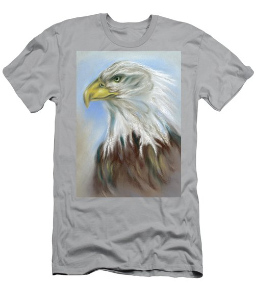 Majestic Bald Eagle Men's T-Shirt (Athletic Fit)