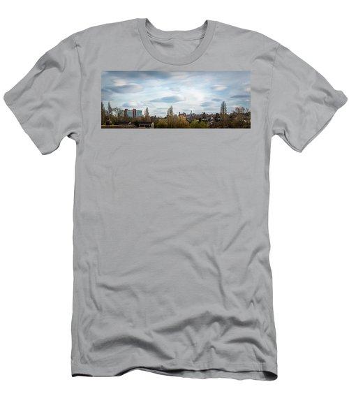 Majestic Cloud 1 Men's T-Shirt (Athletic Fit)