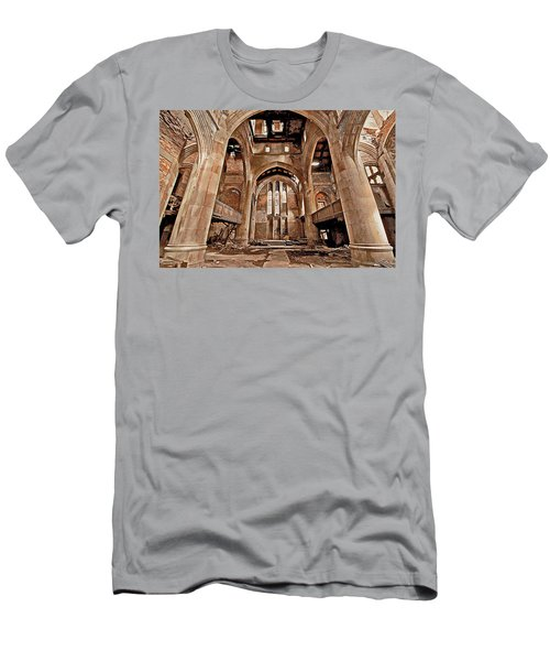 Men's T-Shirt (Slim Fit) featuring the photograph Majestic Ruins by Suzanne Stout