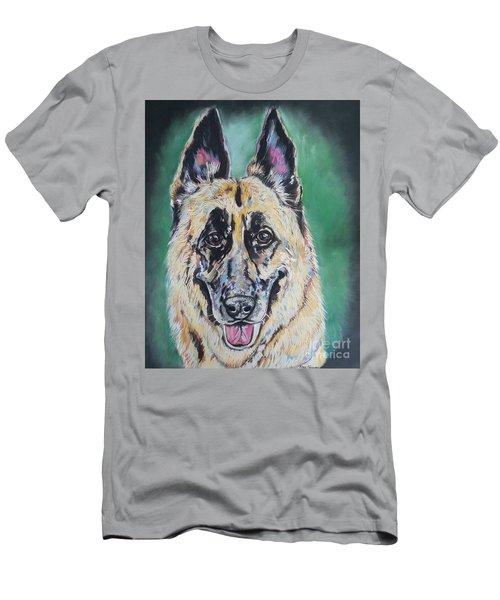 Major, The German Shepherd  Men's T-Shirt (Athletic Fit)