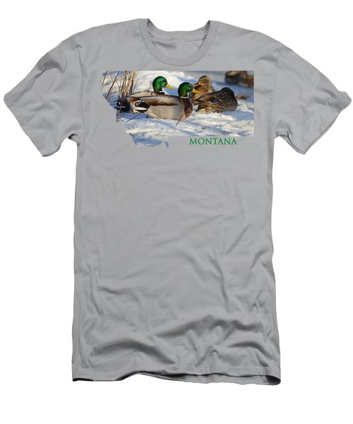 Mallard Montana Men's T-Shirt (Athletic Fit)