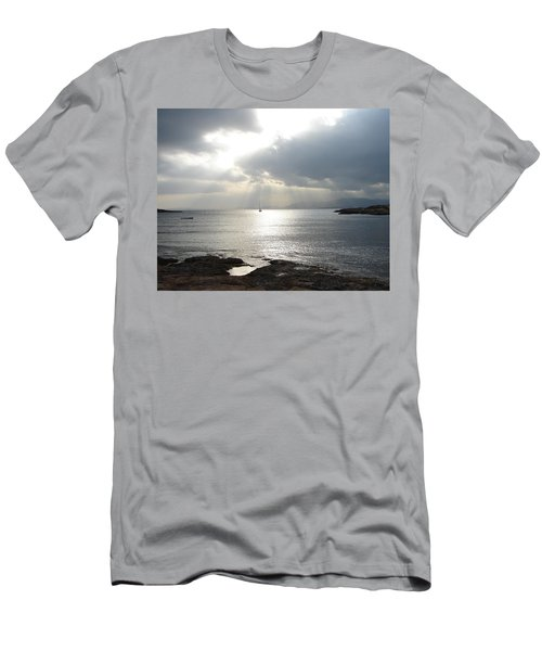 Men's T-Shirt (Slim Fit) featuring the photograph Mallorca by Ana Maria Edulescu