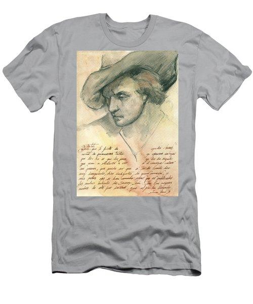 Man Study Men's T-Shirt (Athletic Fit)
