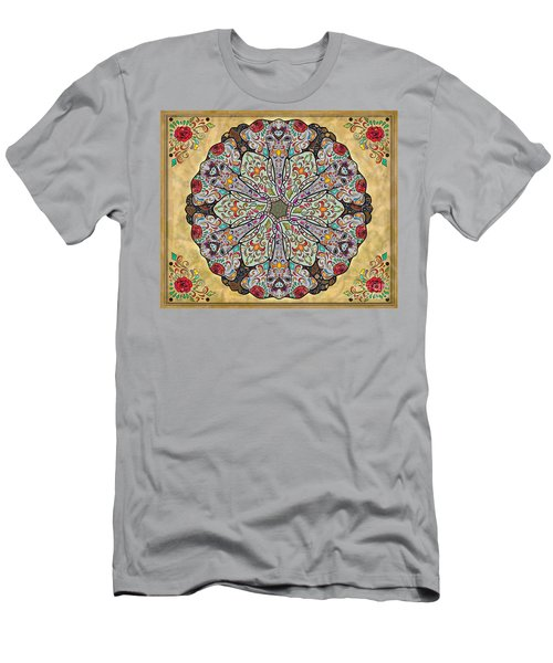 Mandala Elephants Sp Men's T-Shirt (Athletic Fit)