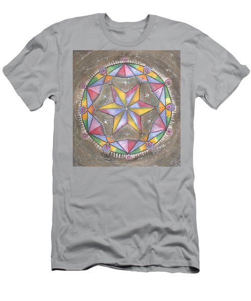 Mandala Men's T-Shirt (Athletic Fit)