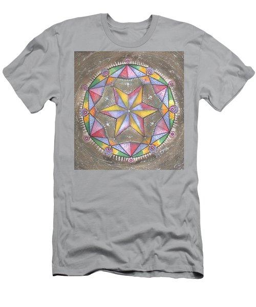 Mandala Men's T-Shirt (Athletic Fit)