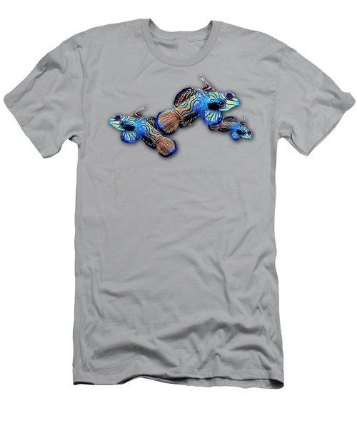 Mandarin Gobies Men's T-Shirt (Slim Fit) by Russ Harris