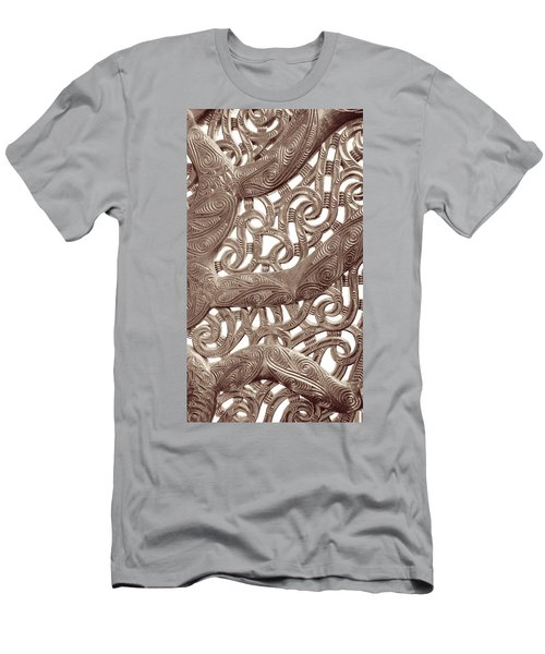Maori Abstract Men's T-Shirt (Athletic Fit)