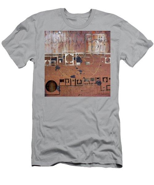 Maps #19 Men's T-Shirt (Slim Fit) by Joan Ladendorf