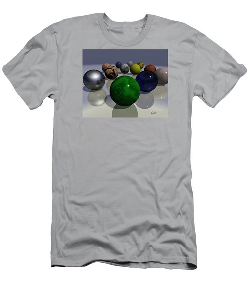 Marbles Men's T-Shirt (Slim Fit) by Walter Chamberlain