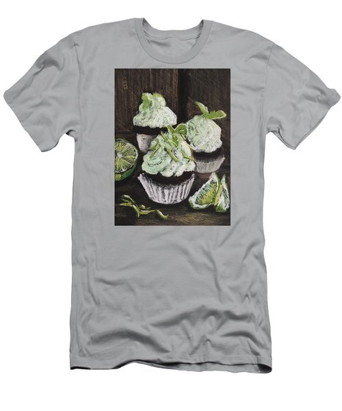 Margarita Cupcakes Men's T-Shirt (Athletic Fit)