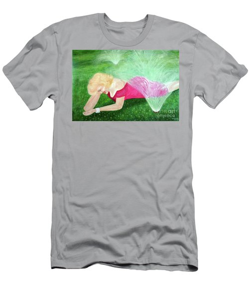 Marilyn Misted Men's T-Shirt (Athletic Fit)