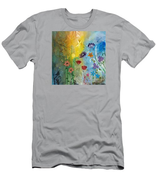 Mariposa Men's T-Shirt (Slim Fit) by Robin Maria Pedrero