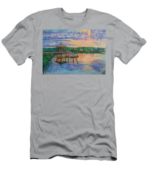 Marsh View At Pawleys Island Men's T-Shirt (Athletic Fit)
