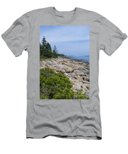 Marshall Ledge Looking Downeast Men's T-Shirt (Athletic Fit)