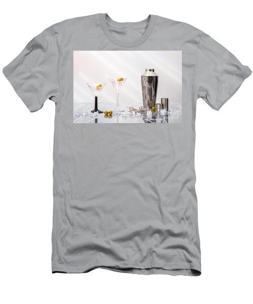 Martini Cocktails Men's T-Shirt (Athletic Fit)