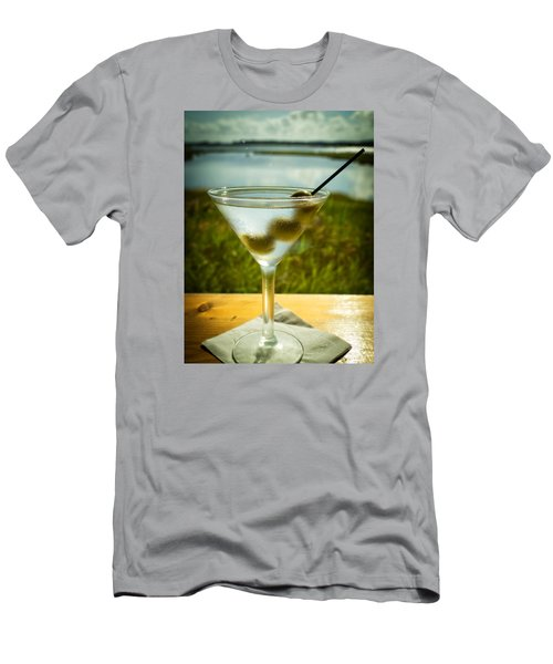 Martini On Fine Summer Day Men's T-Shirt (Athletic Fit)