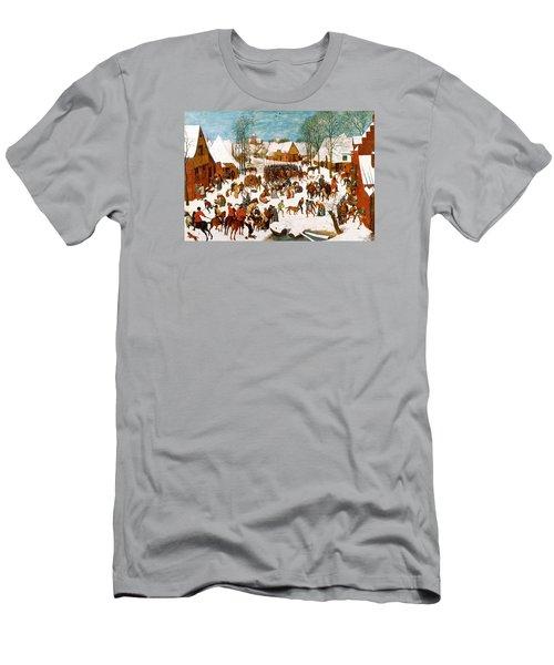 Massacre Of The Innocents Men's T-Shirt (Slim Fit) by Pieter Bruegel the Elder