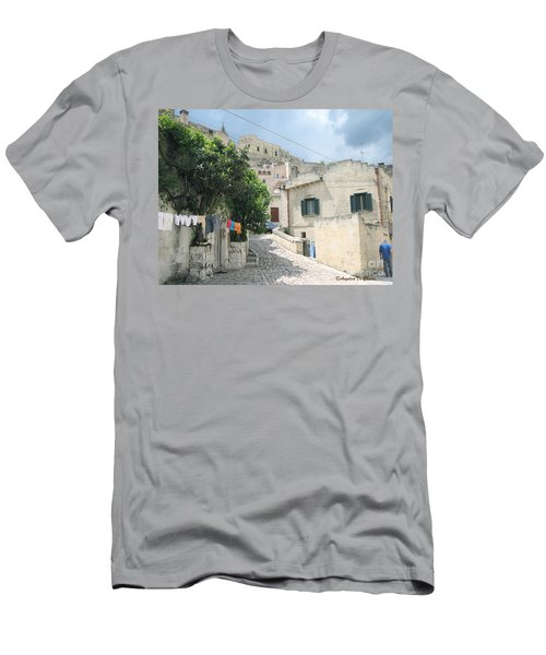 Matera's Colorful Laundry Men's T-Shirt (Athletic Fit)
