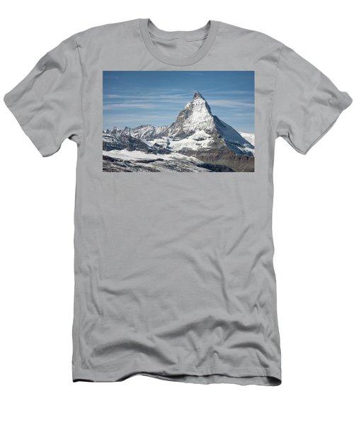 Matterhorn Men's T-Shirt (Slim Fit) by Marty Garland