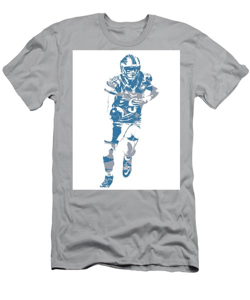 Matthew Stafford Detroit Lions Pixel Art 20 Men's T-Shirt (Athletic Fit)