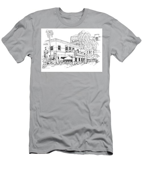Max's Cafe In Mizner Park, Florida Men's T-Shirt (Athletic Fit)