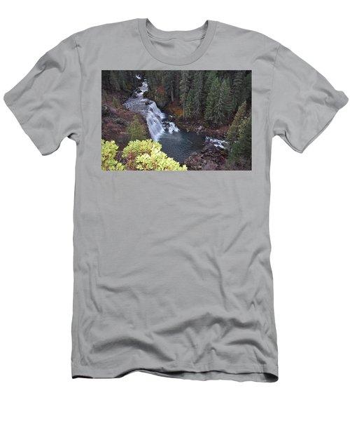 Mccloud River Falls Men's T-Shirt (Athletic Fit)