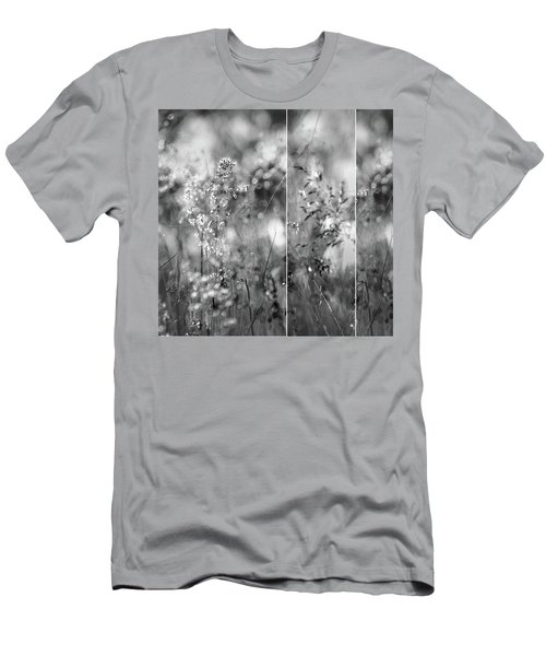 Meadowgrasses Men's T-Shirt (Slim Fit) by Linde Townsend