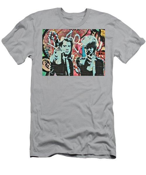 Medieval Street Art Men's T-Shirt (Athletic Fit)