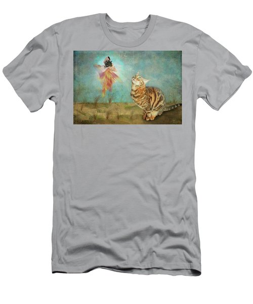 Meeting In The Garden Men's T-Shirt (Athletic Fit)