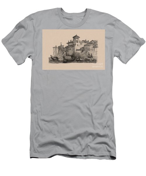 Meetings At The Dock Men's T-Shirt (Athletic Fit)