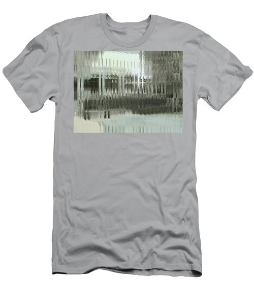 Men's T-Shirt (Slim Fit) featuring the digital art Memory Palace - Fading by Wendy J St Christopher
