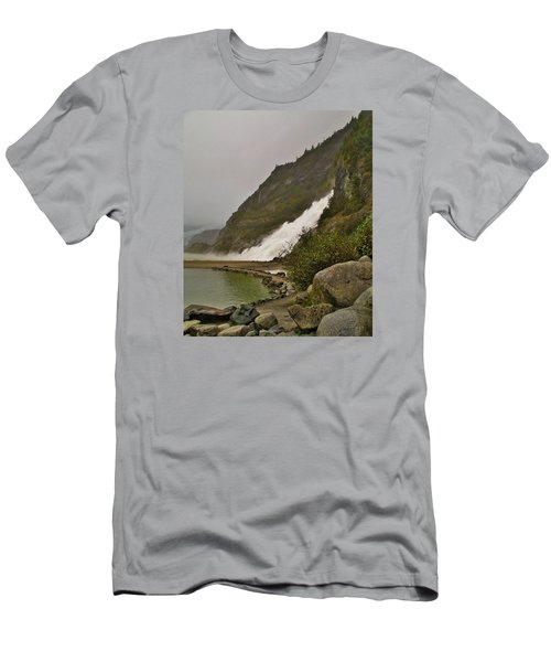 Mendenhall Glacier Park Men's T-Shirt (Slim Fit) by Martin Cline