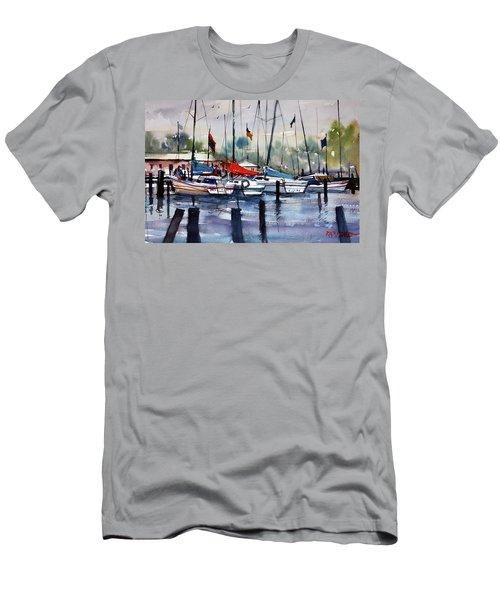 Menominee Marina Men's T-Shirt (Athletic Fit)