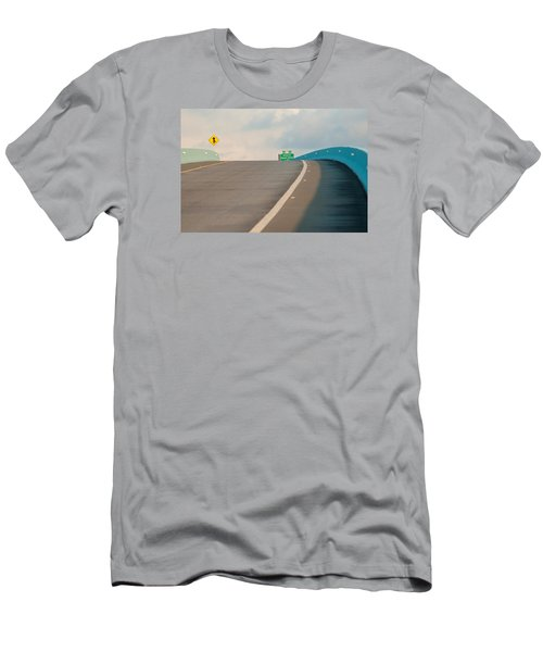 Merge To The Clouds Men's T-Shirt (Athletic Fit)