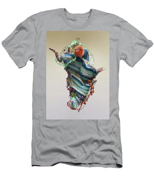 Mermaid Sculpture Men's T-Shirt (Athletic Fit)