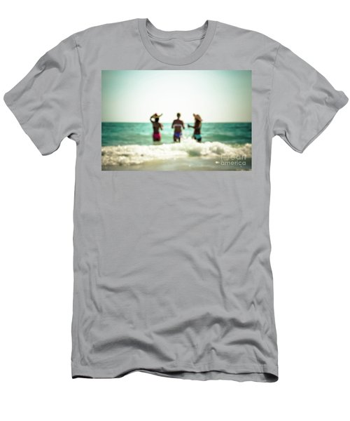 Men's T-Shirt (Slim Fit) featuring the photograph Mermaids by Hannes Cmarits