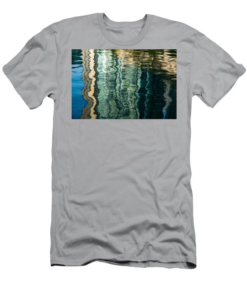 Mesmerizing Abstract Reflections Two Men's T-Shirt (Athletic Fit)