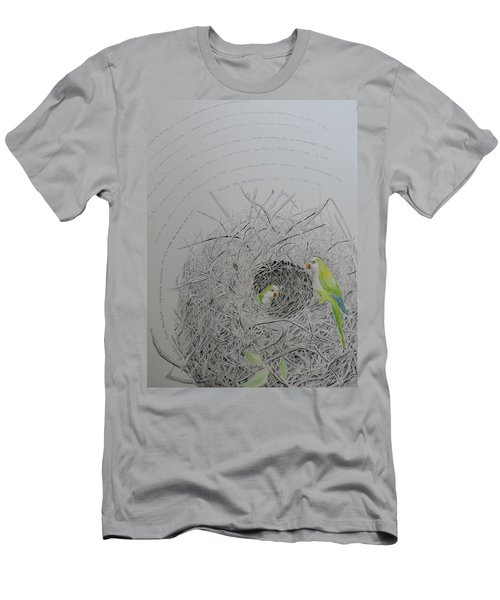 Message To The Birds Men's T-Shirt (Athletic Fit)
