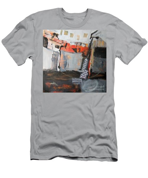 Metro Abstract Men's T-Shirt (Slim Fit) by Ron Stephens