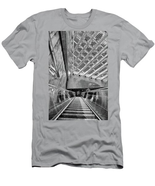 Metro Line 4 Structures, Budapest 3 Men's T-Shirt (Athletic Fit)
