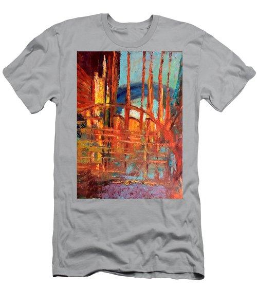 Metropolis In Space Men's T-Shirt (Athletic Fit)