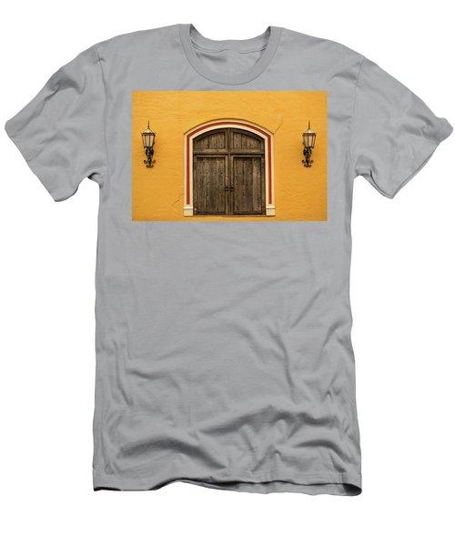 Mexican Door Men's T-Shirt (Athletic Fit)