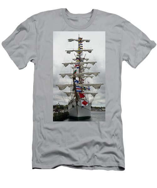 Mexican Navy Ship Men's T-Shirt (Athletic Fit)