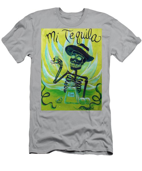 Mi Tequila Men's T-Shirt (Athletic Fit)