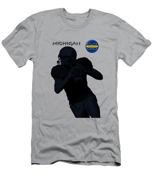 Michigan Football  Men's T-Shirt (Athletic Fit)