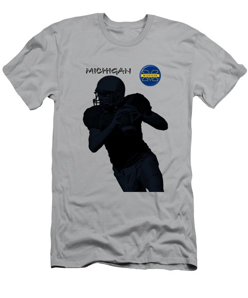 Michigan Football  Men's T-Shirt (Athletic Fit)